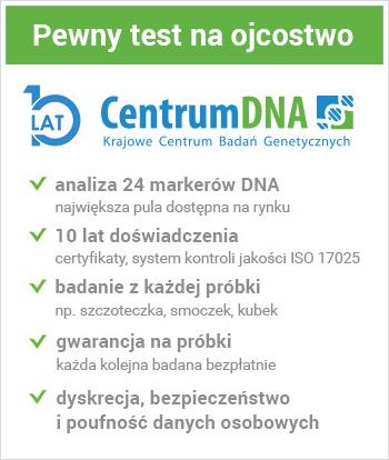 Pewny test na ustalenie ojcostwa