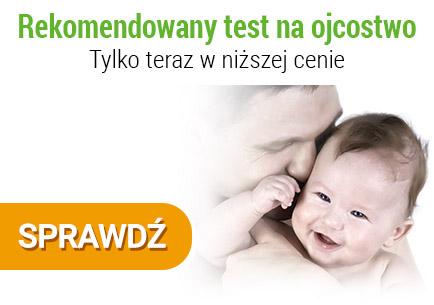Rekomendowany test na ojcostwo